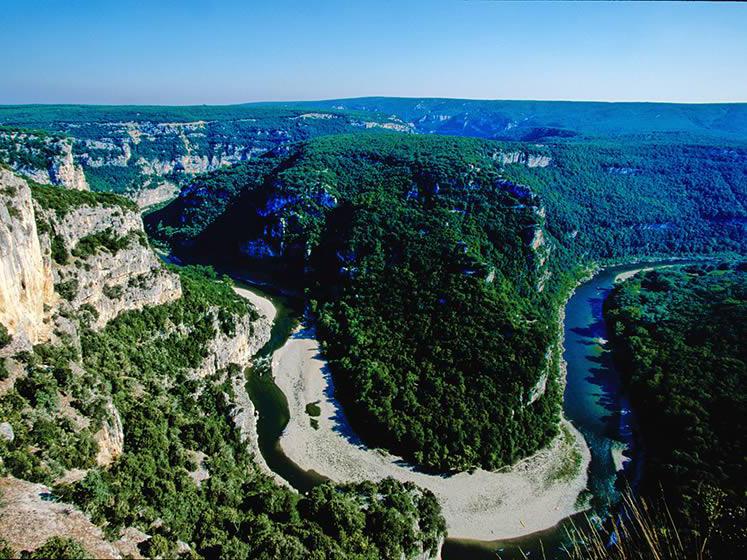De beaux endroits au coeur de la France