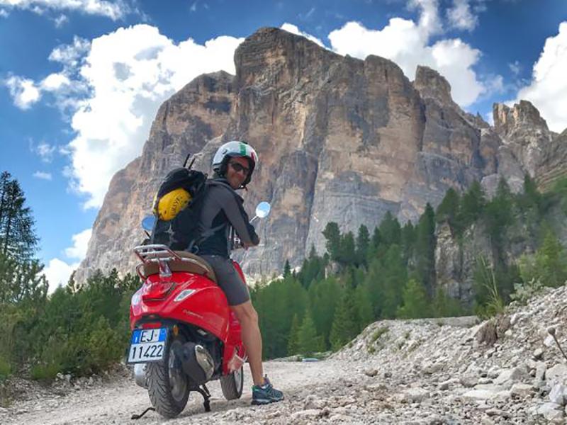 Un voyage à scooter